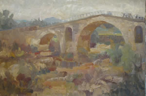 Pont Julien Painting